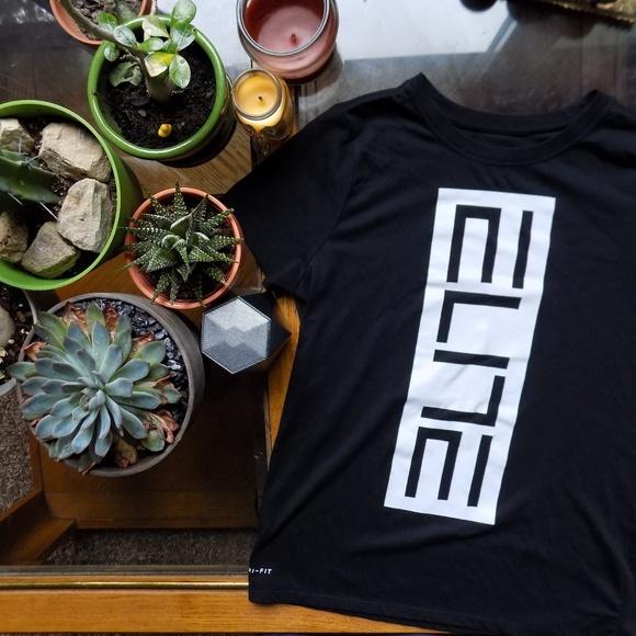 e22af1cf Nike Shirts & Tops | Elite Boys Drifit Basketball T Shirt Xl | Poshmark